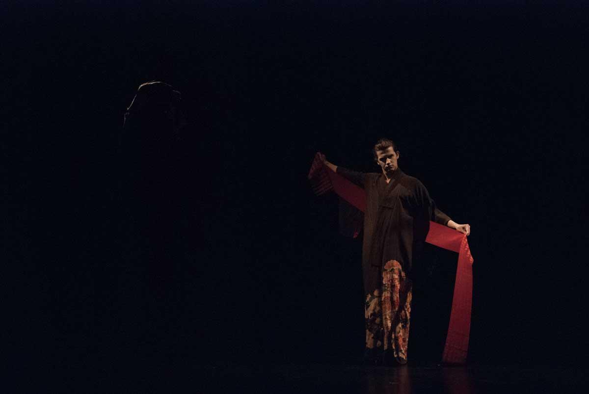 Damiano Fina Eros and Thanatos butoh dance