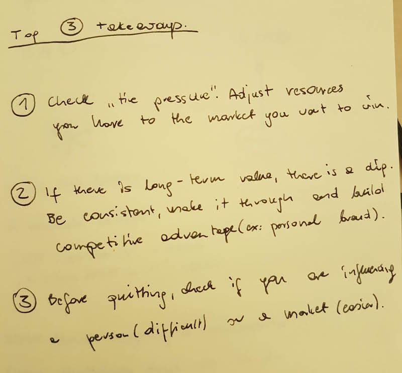 Seth Godin, The Dip, notatki z książki