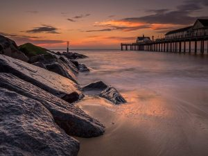 Pier Southwold, Suffolk Landscape Photography