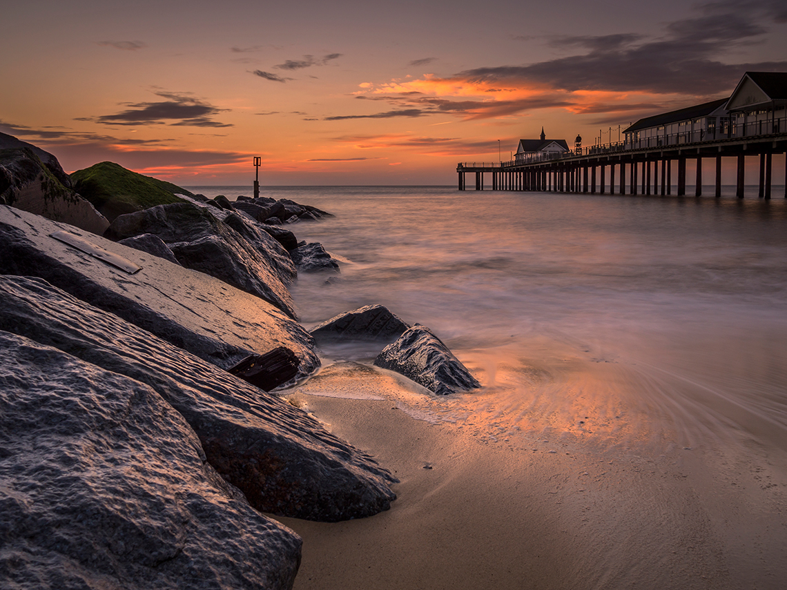 Pier Southwold, Suffolk Landscape Photography