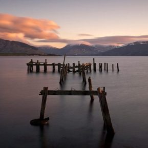 Port Bannatyne Old Pier Isle of Bute, Scotland Landscape Photography