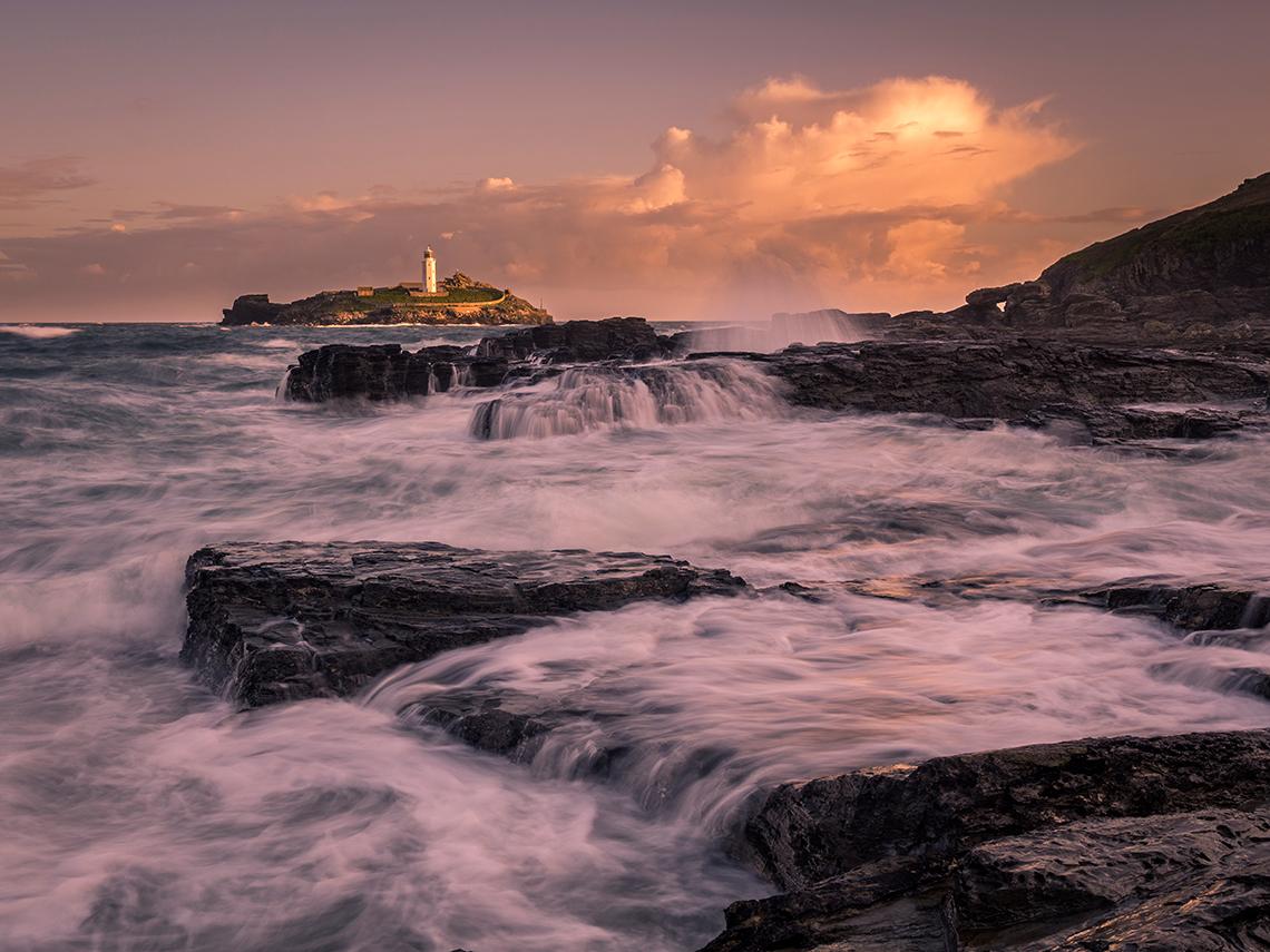 Lighthouse Godrevy Cornwall Landscape Photography
