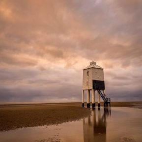 Lighthouse Burnham-on-Sea, Somerset Landscape Photography