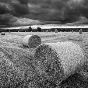 hay bales Landscape Photography