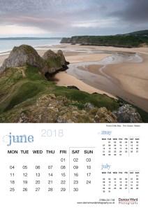 Damian Ward Photography Calendar 2018 June