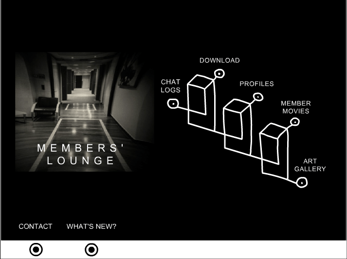 DAVID LYNCH SECTION - ARCHIVE MEMBER LOUNGE
