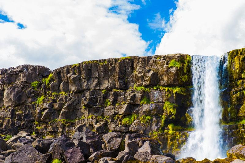 Guide Islande Lieux Incontournables DamienLB glymur cascade