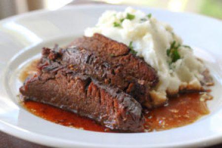 braised oven beef brisket