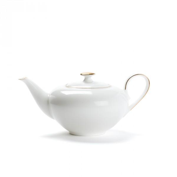 theiere porcelaine concorde 0 4l lisere or