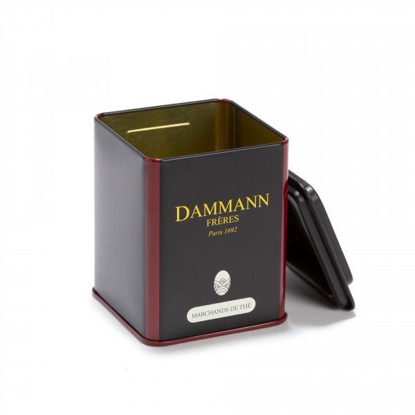 boite vide dammann marchands de the 100g