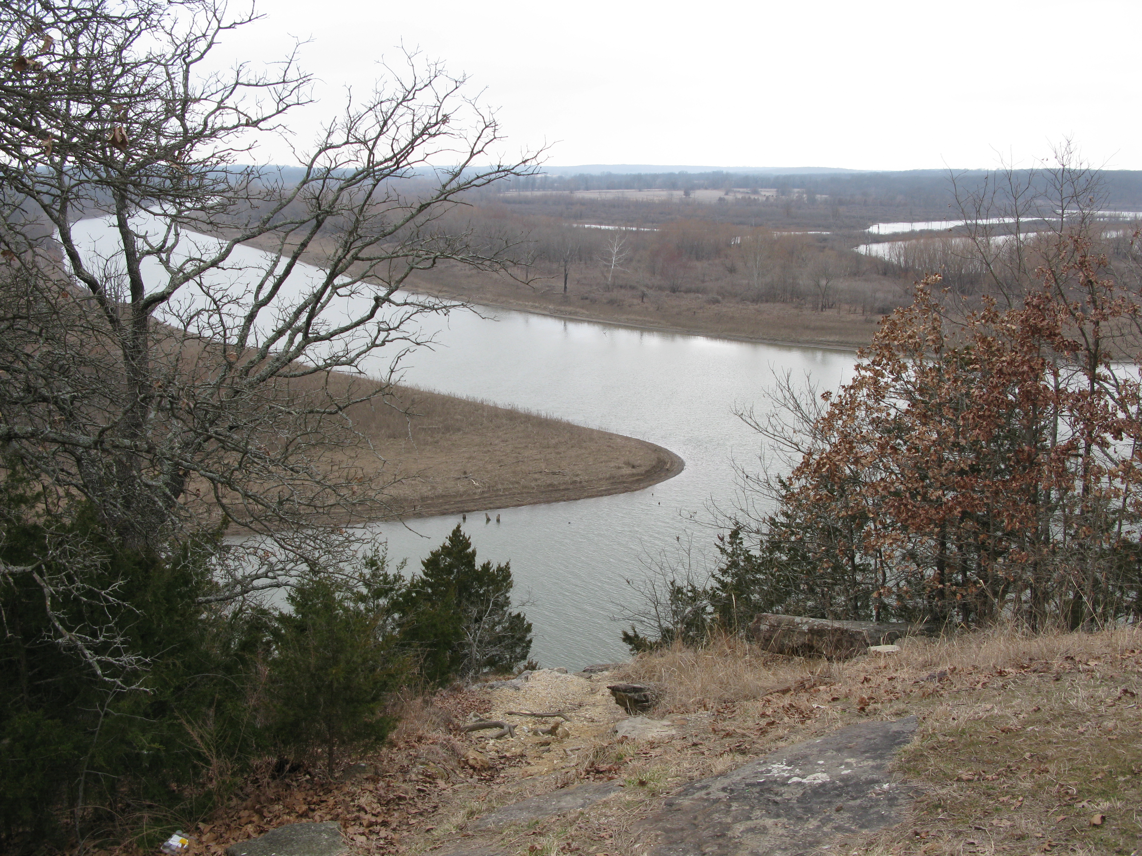 Sac River Damming The Osage - A long river