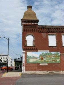 Zebulon Pike mural in Butler, Missouri
