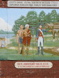 Mural by Dan Brewer, Butler, Missouri - seat of Bates County