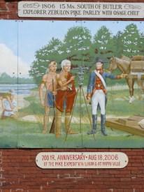 Mural by Dan Brewer, Butler, Missouri - seat of Bates County