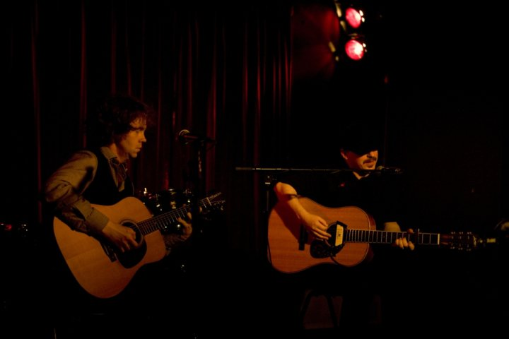 Chris Brokaw & Jason Molina - photo by Rama