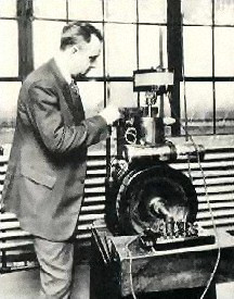 Midgley in the laboratory