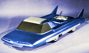 The Ford Nucleon concept car
