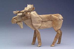 Origami moose, robert j. lang origami