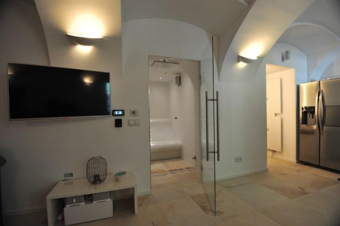 dampfbad wellness im badezimmer das dampfbad von soleum gmbh. Black Bedroom Furniture Sets. Home Design Ideas