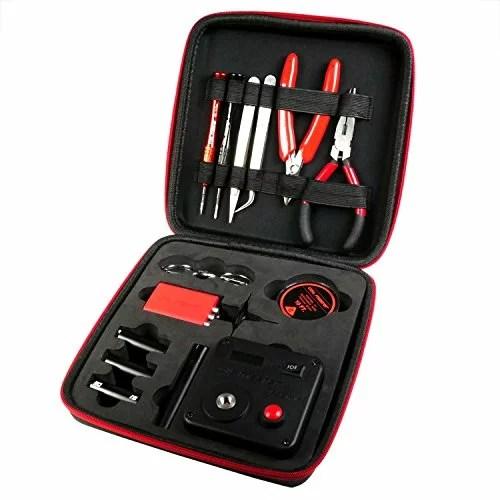 Coil Master DIY Kit V3 komplettes Werkzeug und Zubehör zum Selbstwickeln, mit 521 Tab Mini, 1 Stück.