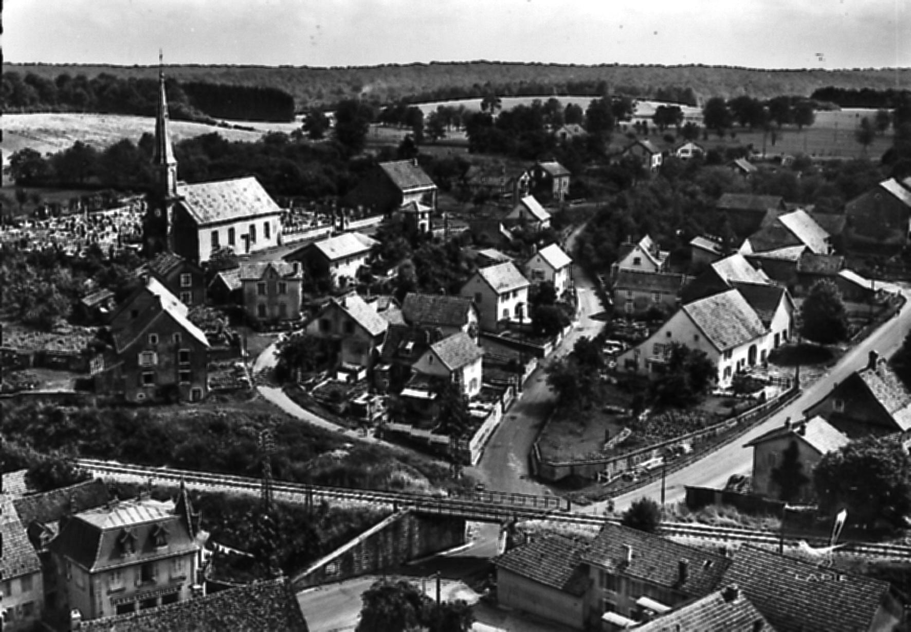 Le Village Dans Lancien Temps Dampierre Les Bois