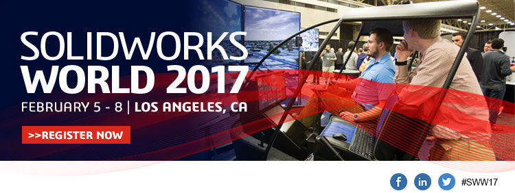 SolidWorks World 2017 Early Bird Registration Now Open!
