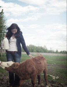 My first farm visit.