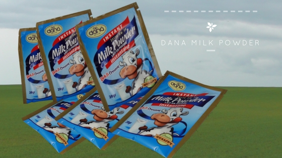 Milk Powder in Sachets