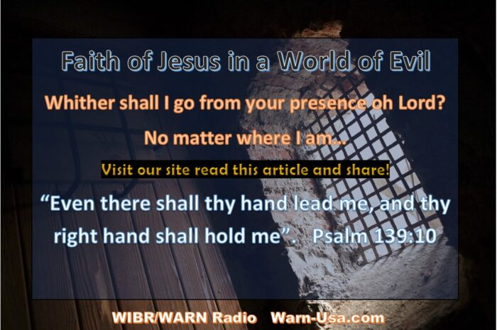 Faith of Jesus in a World of Evil Article image
