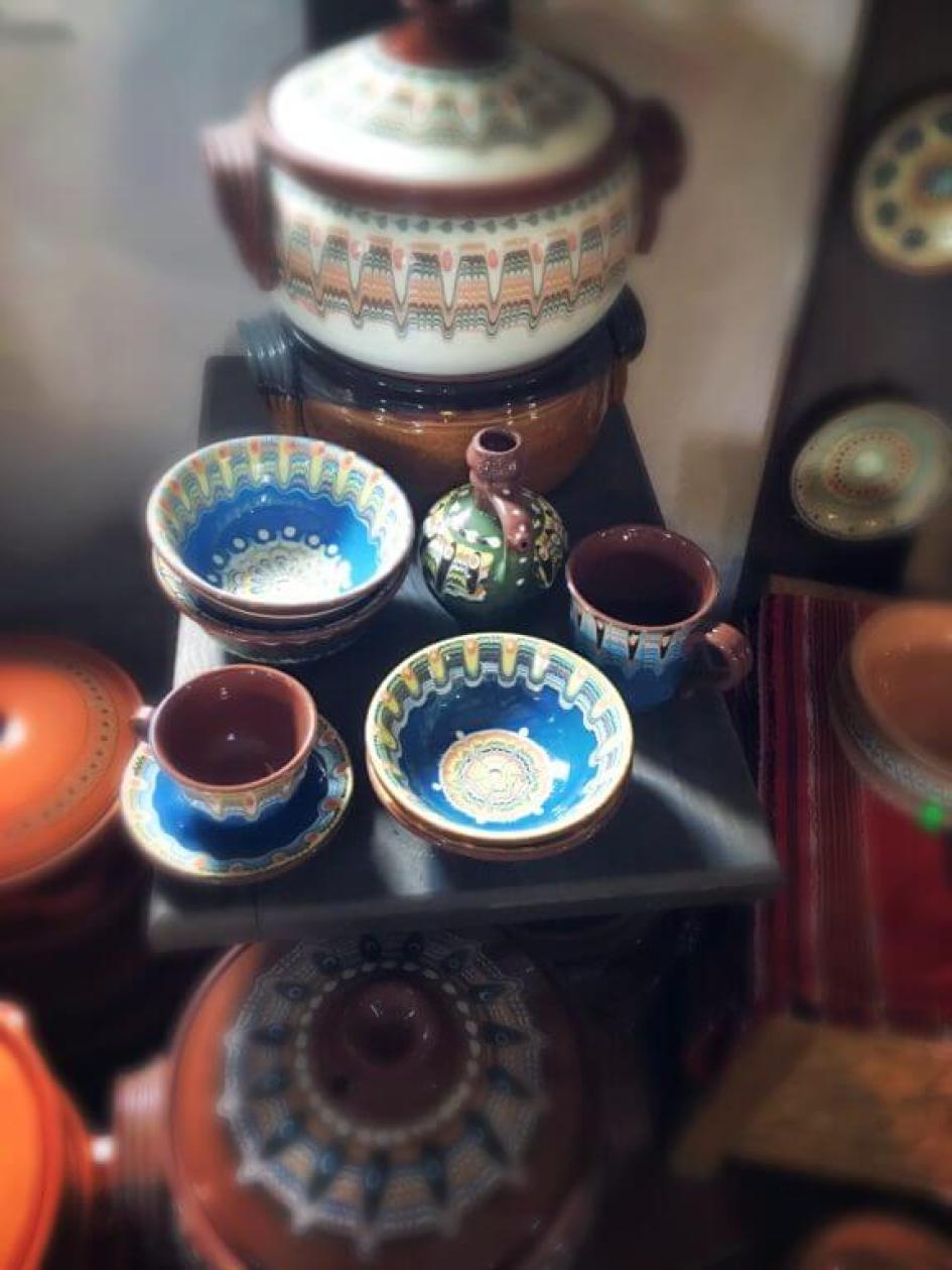 Ceramică bulgarească