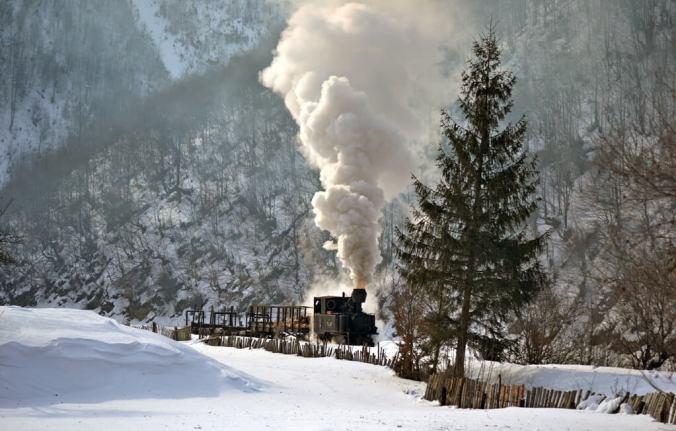 Mocanița, Vișeul de Sus, Maramureș | foto: http://www.cffviseu.com/
