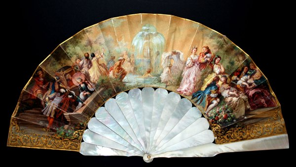 evantai hand fan The Fan Museum London