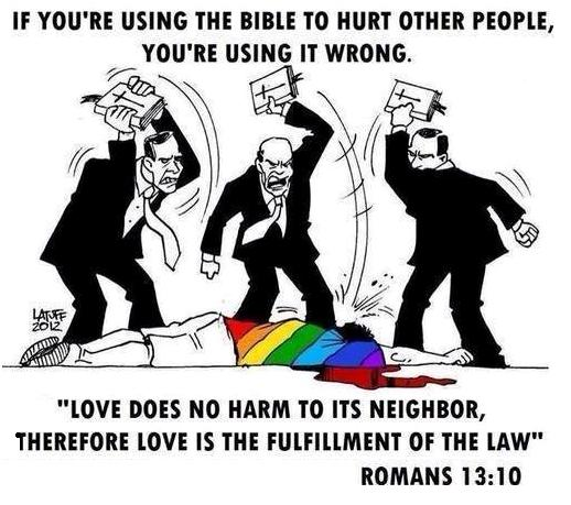 Using the Bible to hurt other people