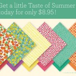 Taste of Summer Paper Pack  $8.95
