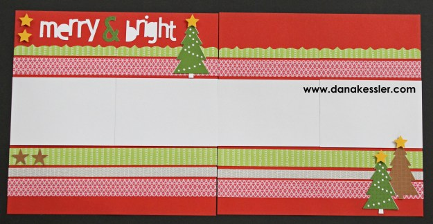 Two Page Scrapbook Layout Fundamentals Christmas Merry Tree Holiday 20 page workshop #pagekits #ctmh #cricutexplore #scraptabulousdesigns #scrapbooking