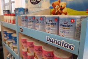 DanaLac Stage One on Promotion Shelves