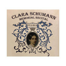 Clara Shumann Memorial Recital