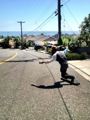 The city of Dana Point has banned skateboarding down six streets in the Monarch Bay neighborhood. Photo by Jasmine Smith