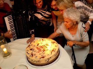On Sunday, October 13 Mary Vallera's descendants gathered to celebrate their matriarch's 100th birthday. Photo by Rick