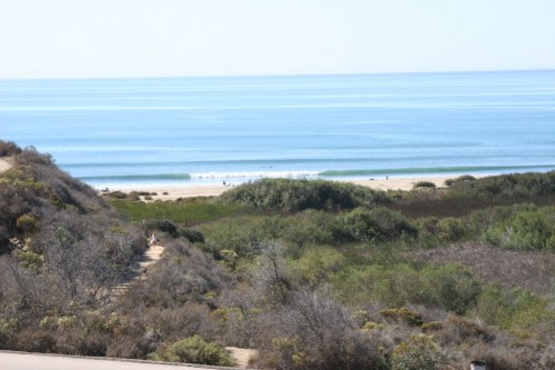 After nearly a decade of questions, the fate of the 241 South Toll Road extension, and how it will affect the famed Trestles surf break, shown here, may have been sealed by a new agreement between the TCA and Caltrans. Photo by Andrea Swayne