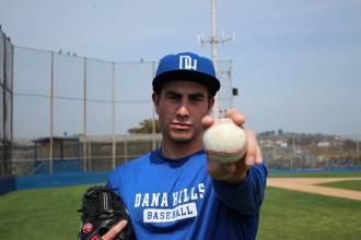 Former Dana Hills baseball player Blake Taylor was drafted by the Pittsburgh Pirates in June. Photo by Steve Breazeale