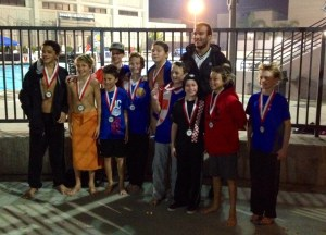 The Orange County Water Polo Club 12U water polo team. Courtesy photo