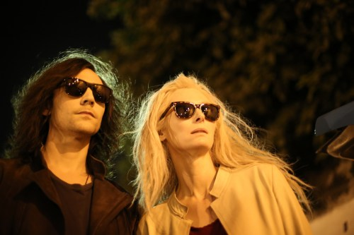 Tom Hiddleston as Adam and Tilda Swinton as Eve in 'Only Lovers Left Alive.' Photo: Sandro Kopp, Courtesy of Sony Pictures Classics