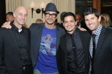 Actors David Marciano, Todd Stashwick, Nicholas Gonzalez and Aaron Scotti were special guests at this year's Ante Up for Autism fundraiser for TACA at the St. Regis. Photo: Courtesy