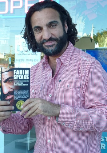 """Fahim Fazli of Dana Point is looking forward to his book """"Fahim Speaks"""" being made into a movie. Also an actor, Fazli has appeared in dozens of television shows and movies, most recently appearing in the movie """"American Sniper."""" Photo: Tom Blake"""