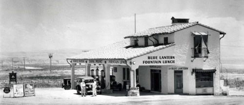 Blue Lantern Fountain Lunch. Photo: Courtesy of the Carlos N. Olvera Collection