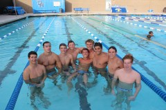 The Dana Hills boys swim team is looking for a second consecutive South Coast League title in 2015. Photo: Steve Breazeale