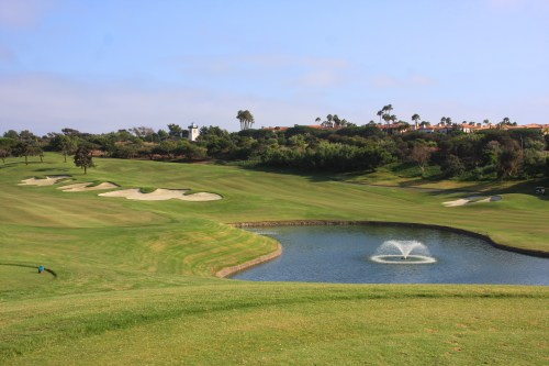 The Monarch Beach Golf Links in Dana Point is a leader among courses responding to the ongoing drought and increased water conservation practices. Photo: Andrea Swayne