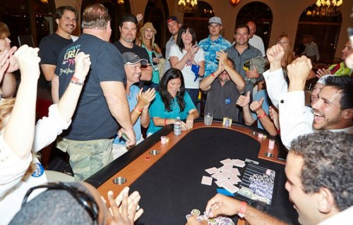A fun scene from last year's Fish for Life Texa Holdem Fundraiser. Photo: Courtesy of Fish for Life