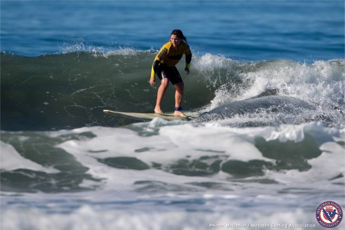 Riley Branom. Photo: WSA/Jack McDaniel